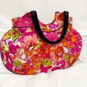Vera Bradley Vintage Rose Limited Ed. Hobo Bag EUC